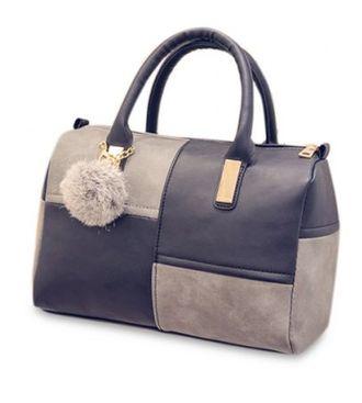 Черно - серая сумка