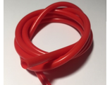 Silicone hose  for fuel 3.0x5.0 mm , red