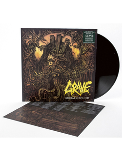 GRAVE - Burial Ground LP