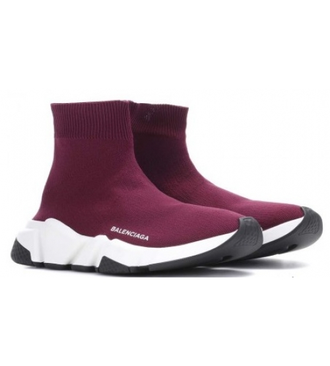 Balenciaga Speed trainer Бордовые (36-45)