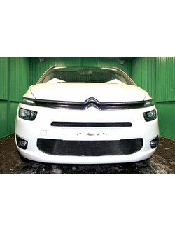 Защита радиатора Optimal Citroen C4 Grand Picasso 2014-нв. Код: Z001