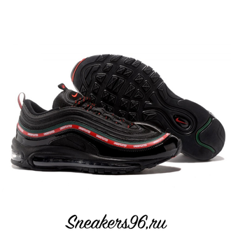 Nike Air Max 97 x Undefeated Black Черные Унисекс (36-45)