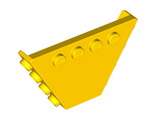 Vehicle, Tipper End Flat without Pins, Yellow (30022 / 6095756 / 6293858)