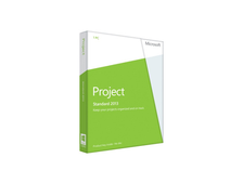 Microsoft Project Standard 2013 32-bit/x64 english DVD 076-05069
