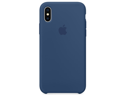 Чехол-накладка Apple Silicone Case iPhone Blue Cobalt