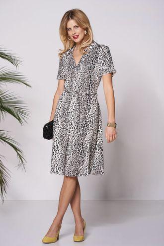 9e20396f76ee Платье леопардовое Польша фирмы salko лето 2019 купить в интернет ...