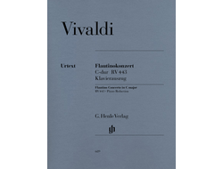Vivaldi   Flautino Concerto C major op. 44 no. 11 RV 443