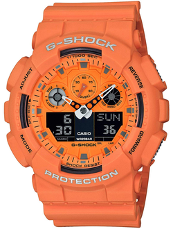 Часы Casio G-Shock GA-100RS-4AER