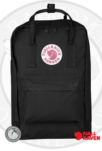 Рюкзак Fjallraven Kanken Laptop 15 Inch Black (550)