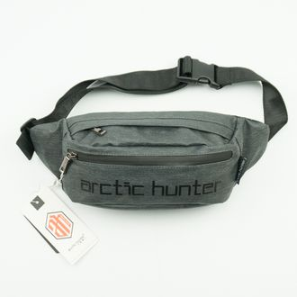 Сумка поясная ARCTIC HUNTER серая 00558
