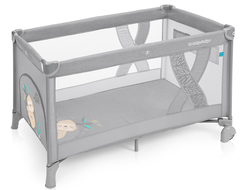 Манеж-кровать Baby Design Simple 2019 07 Light Gray