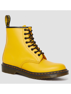Ботинки Dr. Martens 1460 POP YELLOW  женские