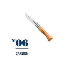 Нож Opinel №06 Carbon