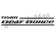 Наклейка Team Deaf Bonce