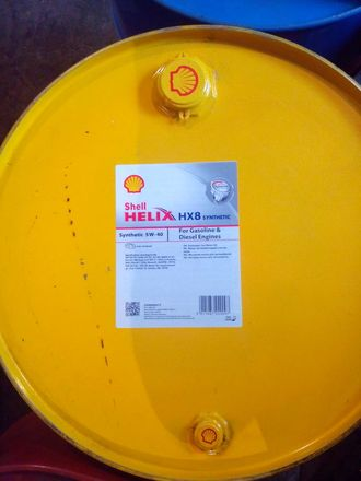 Масло моторное SHELL Helix HX8 5W40 209л.(1л.)*