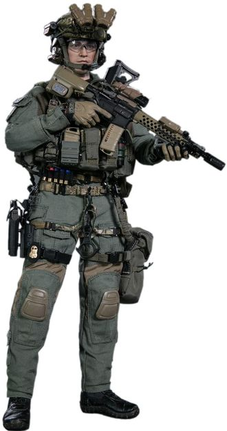 КОЛЛЕКЦИОННАЯ ФИГУРКА 1/6 FBI SWAT TEAM AGENT - SAN DIEGO (DAM 78044A) - DAMTOYS