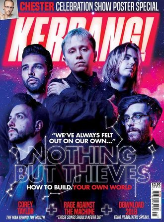 KERRANG! Magazine № 1696 Nothing But Thieves Cover Иностранные музыкальные журналы, Intpressshop