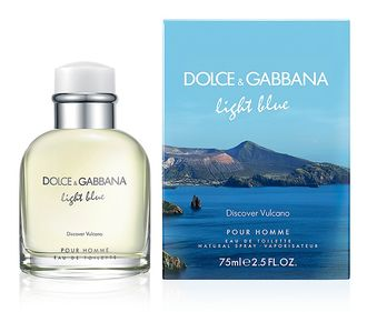 DOLCE&GABBANA LIGHT BLUE DISCOVER VULCANO POUR HOMME