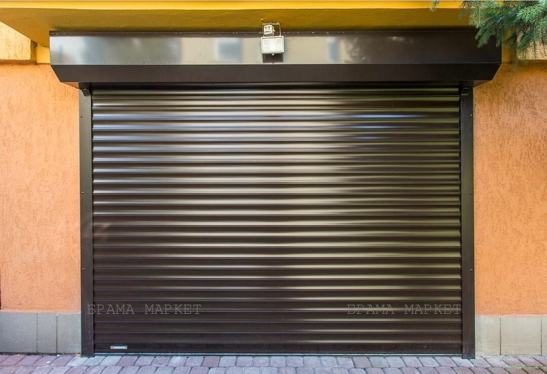 Ролетні ворота автоматичні - гаражні ролети підйомні