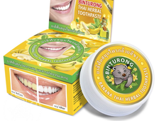 Зубная паста c экстрактом банана Бинтуронг (Binturong Banana Thai Herbal Toothpaste) Nina Buda - 33гр. (Тайланд)
