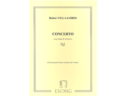 Villa-Lobos Concerto for Harp and Orchestra - Piano version