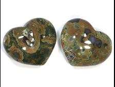 Сердце Риолит в ассортименте, Перу (45*37*25 мм, 50 г) №20605