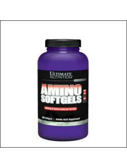 Аминокислоты Ultimate Nutrition Amino Softgels 300 капсул