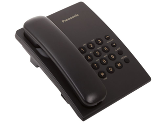Аналоговый телефон Panasonik KX-TS2350RUB