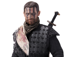Макбет (Майкл Фассбендер) - Коллекционная ФИГУРКА 1/6 scale Aciton Figure Macbeth with two heads Television series Michael Fassbender (EX028) - POPTOYS