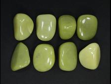 Серпентин, галтовка в ассортименте, Китай (28-30 мм, 10-15 г) №21330