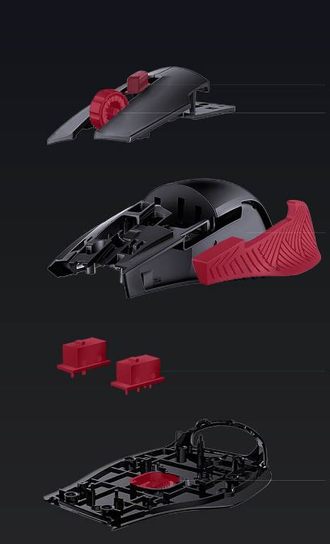 Игровая мышь Xiaomi Blasoul Y720Lite stream color light professional gaming mouse