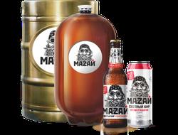 Пиво Мазай 0,5 л, 1 бут.
