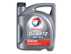 Моторное масло Total Quartz INEO MC3 5W-40  5л