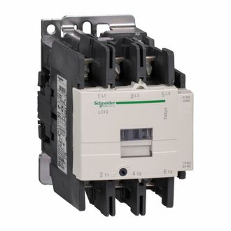 LC1D80B7 КОНТАКТОР3Р,80A,НО+НЗ,24V50ГЦ Schneider Electric