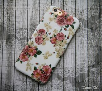 Чехол  для iPhone 6/6s  Flowers8