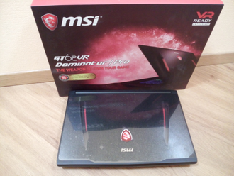 MSI GT62VR 7RE DOMINATOR PRO ( 15.6 FHD IPS i7-7700HQ GTX1070(8Gb) 16Gb 1Tb + 256SSD )