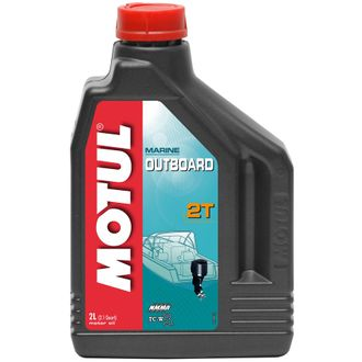 Масло моторное MOTUL OUTBOARD 2T 2л 101732
