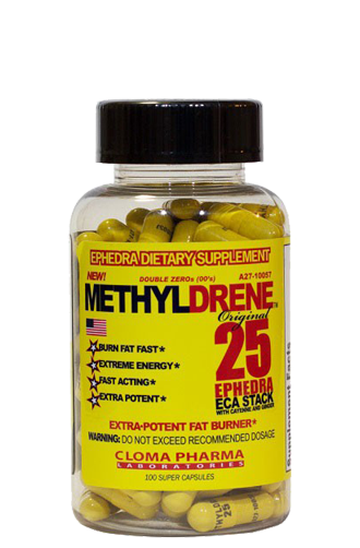 Methyldrene 25 Cloma Pharma, 100 капсул