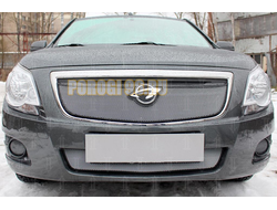 Защита радиатора Ravon R4 2016- / Chevrolet Cobalt 2013- chrome низ