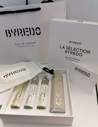 "Парфюмерный набор Byredo ""La Selection Byredo Eau de Parfum"" (Gray) 3x12 ml"