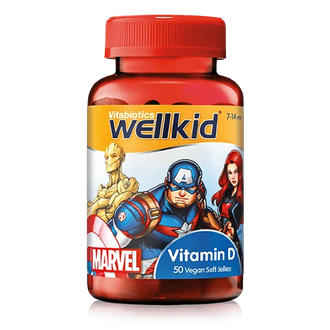 Wellkid Marvel heroes Vitamin D
