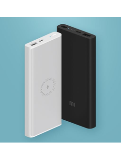 Аккумулятор Xiaomi Mi Wireless Power Bank 10000 mAh (WPB15ZM) белый