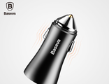 АЗУ Baseus 2USB Golden Contacor Black