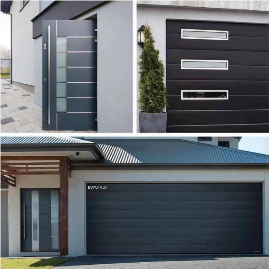 современные гаражные ворота
