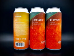 In Bloom Mango Milkshake IPA Манговая Милкшейк Ипа 6.5% ABV 35 IBU 0.5л Bakunin Brewery в банке