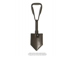 "Лопата складная ""GERMAN TRIFOLD SHOVEL W/O COVER USED"" б/у Olive"