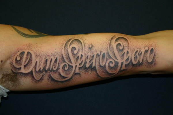 different writing styles for tattoos