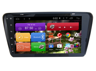 "Автомагнитола MegaZvuk AD-1019 Skoda Octavia (A7) (2013+) на Android 6.0.1 Quad-Core (4 ядра) 10,1"" Full Touch"