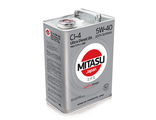 MJ-212. MITASU ULTRA DIESEL CI-4 5W-40 100% Synthetic