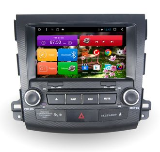 Автомагнитола MegaZvuk Т8-8007 Citroen C-Crosser (2007-2013) на Android 8.1 Octa-Core (8 ядeр) 8""